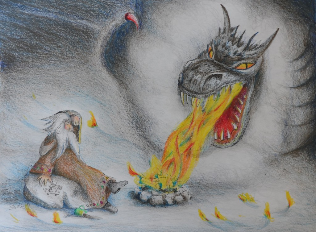 The Wizard and the Fire Dragon 2