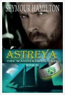 Book cover:  Astreya, Book 3, The Wanderer's Curse