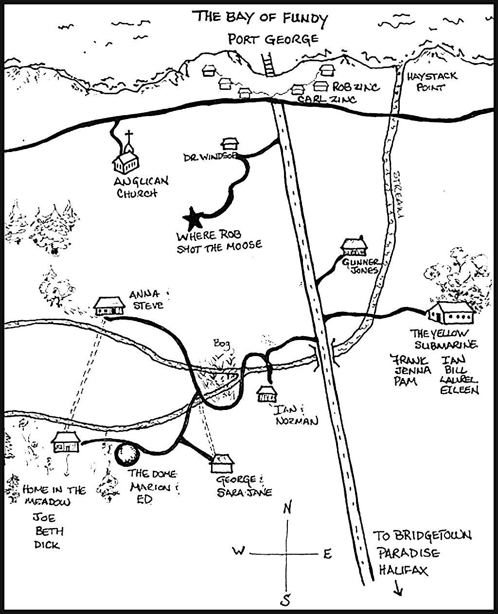 Joe's map